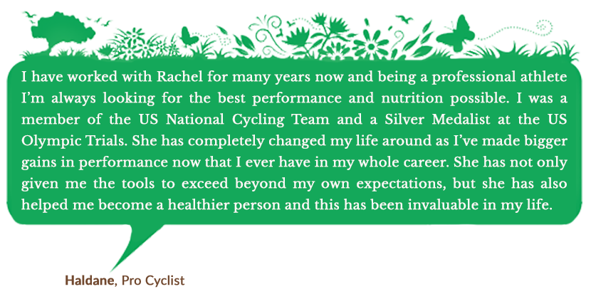 Holistic Living With Rachel Avalon - Coaching - Success Stories - Haldane