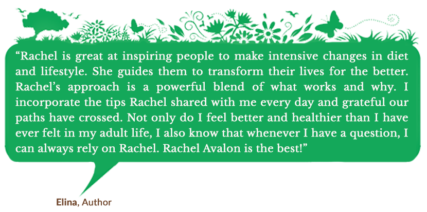 Holistic Living With Rachel Avalon Online Courses Success Stories - Elina