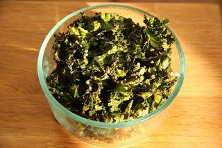 Holistic Living With Rachel Avalon - Sesame Ginger Kale Chips Recipe